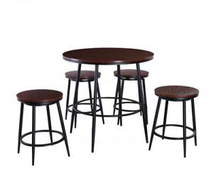 Hot sale Bar Table And Chair - GS-BR1160 5pc counter set – Xinhai