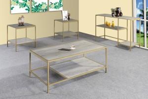 Hot sale Metal Bar Stool - GS-CT918 3pc coffee table set – Xinhai