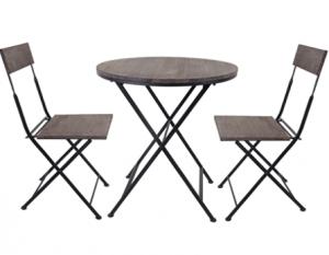 3pc patio table set JY18231