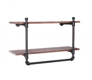 GS-ZW216 2 tier wall shelf